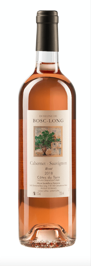 2018 Cabernet-Sauvignon Rosé, IGP Cotes du Tarn, 0,75 l