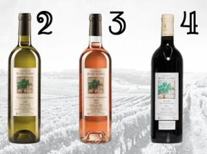 Online-Weinprobenpaket für die Weinprobe am 25. März 2021 um 19.30 Uhr