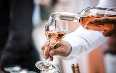 Rosé Wein der Domaine de Bosc Long