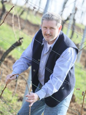 Andreas Rips im Weinberg der Domaine de Bosc Long